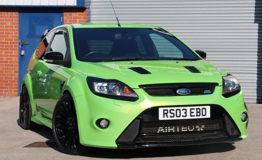 2010 (10) Ford Focus edit 2.5 RS 3dr