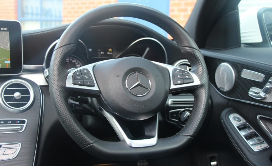 2015 (15) Mercedes C250d Premium Plus AMG LINE 4dr