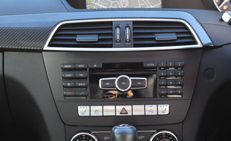 2013 (13) Mercedes-Benz C Class 6.3 C63 AMG MCT 7S 5dr (COMAND)