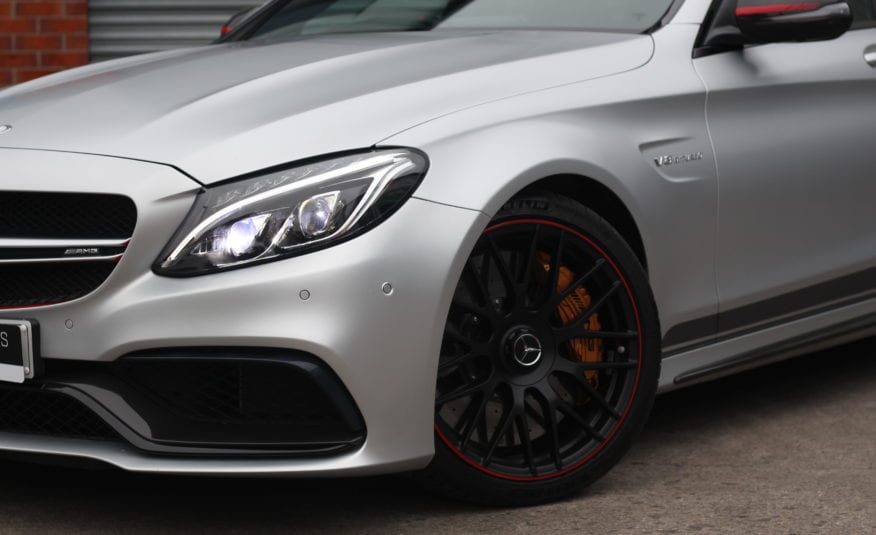 2015 (65) Mercedes-Benz C Class 4.0 C63 AMG S Edition 1 Speedshift MCT (s/s) 4dr