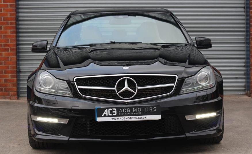 2012 (62) Mercedes-Benz C Class 6.3 C63 AMG MCT 7S 4dr