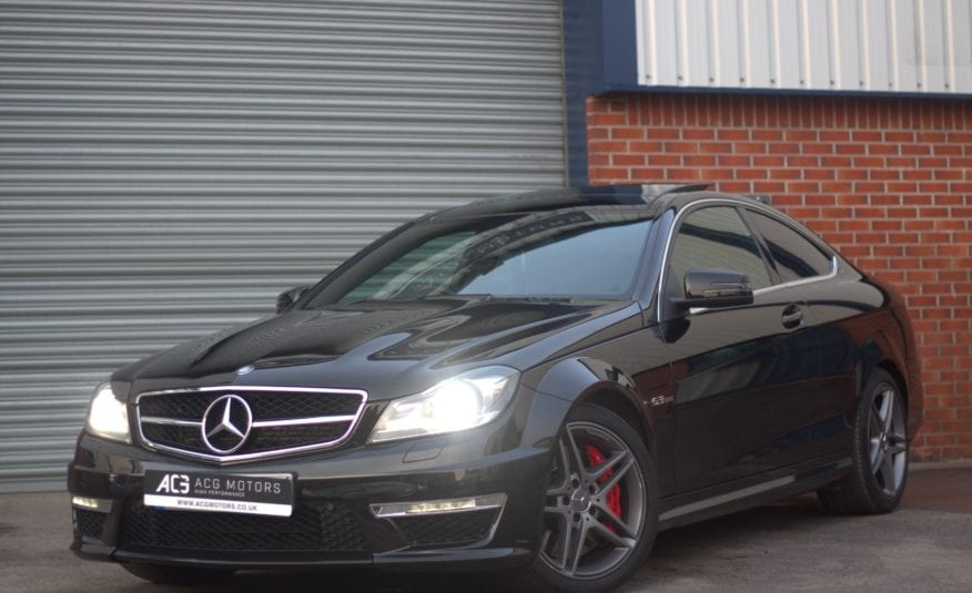 2013 (62) Mercedes-Benz C Class 6.3 C63 AMG MCT 7S 2dr