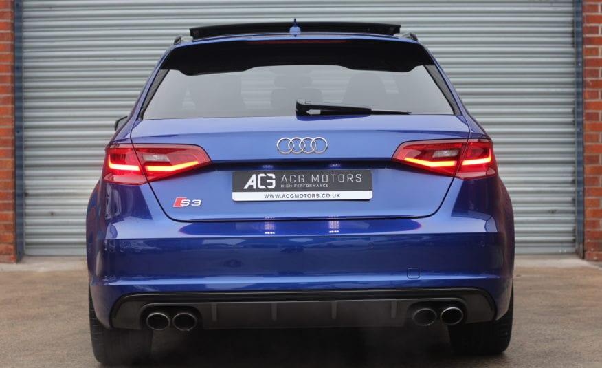 2015 (15) Audi S3 2.0 TFSI Sportback S Tronic quattro 5dr