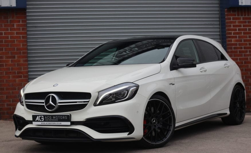 2016 (66) Mercedes-Benz A Class 2.0 A45 AMG (Premium) Speedshift DCT 4MATIC (s/s) 5dr