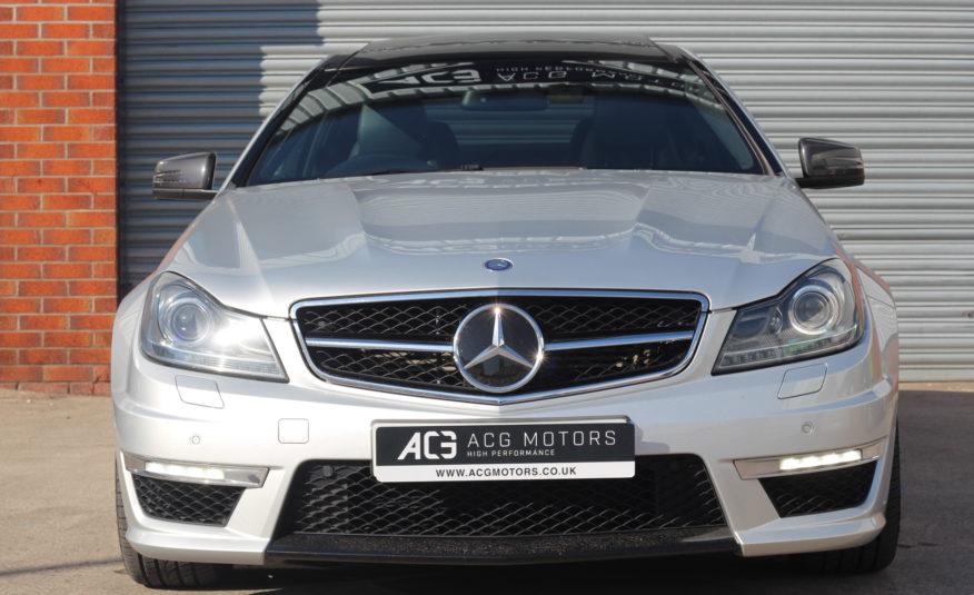 2012 (12) Mercedes-Benz C Class 6.3 C63 AMG Edition 125 7G-Tronic 2dr