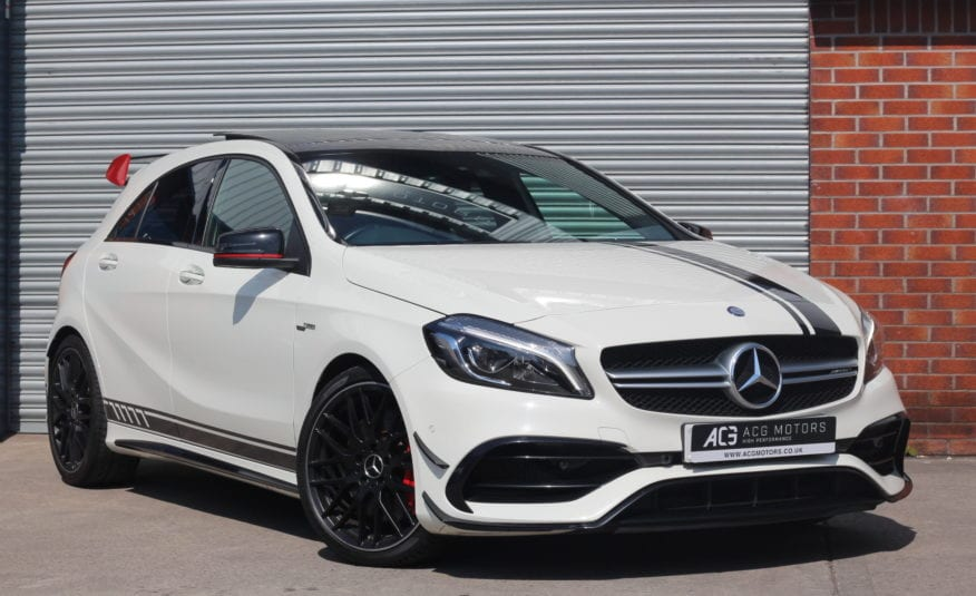 2016 (66) Mercedes-Benz A Class 2.0 A45 AMG (Premium) Speedshift DCT 4MATIC (s/s