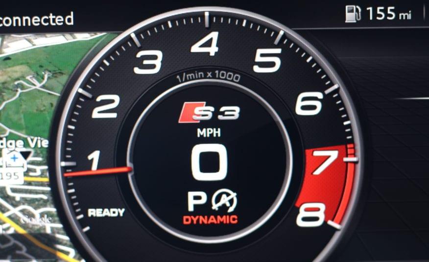 2018 (18) Audi S3 2.0 TFSI Black Edition Sportback S Tronic quattro (s/s) 5d
