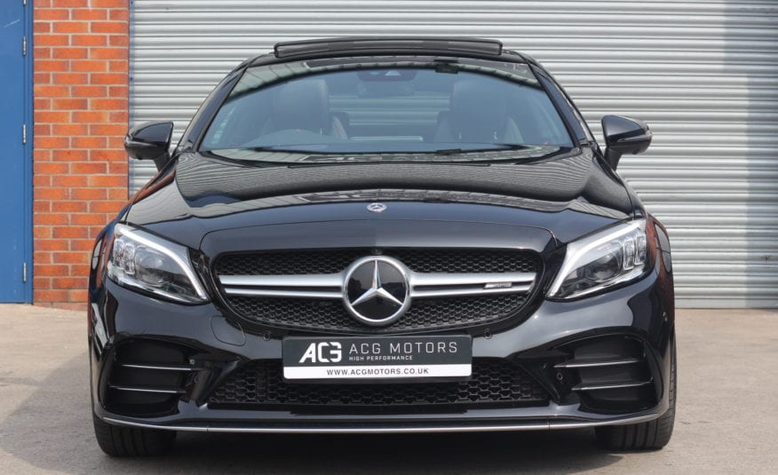 2018 (68) Mercedes-Benz C Class 3.0 C43 AMG (Premium Plus) 9G-Tronic Plus 4MATIC (s/s) 2dr
