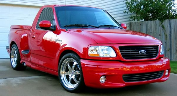 2003 Ford F-150 SVT Lightning 5.4 V8 Supercharged LHD
