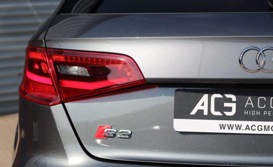2016 (16) Audi S3 2.0 TFSI Sportback S Tronic quattro 5dr (Nav)