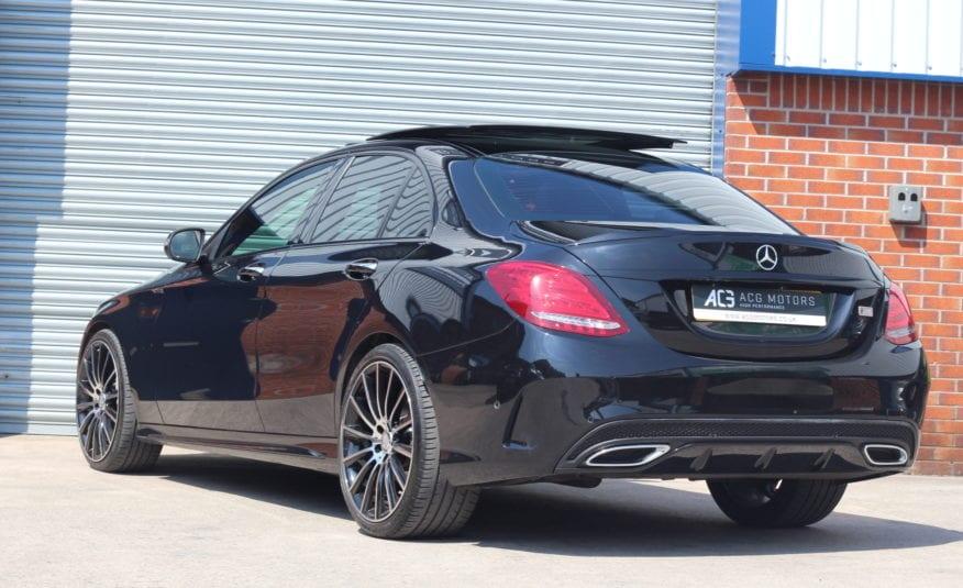 2016 (66) Mercedes-Benz C Class 2.1 C250d AMG Line (Premium) (s/s) 4dr