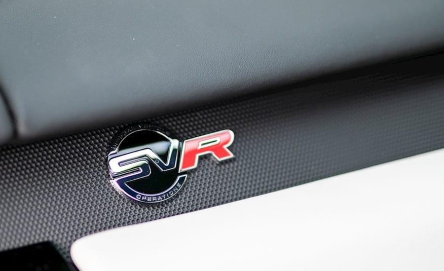2018 (18) Land Rover Range Rover Sport 5.0 V8 Supercharged SVR CommandShift 2 AWD (s/s) 5dr