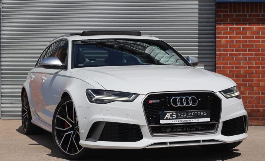 2016 (16) Audi RS6 Avant 4.0 TFSI V8 Performance Avant Tiptronic quattro 5dr