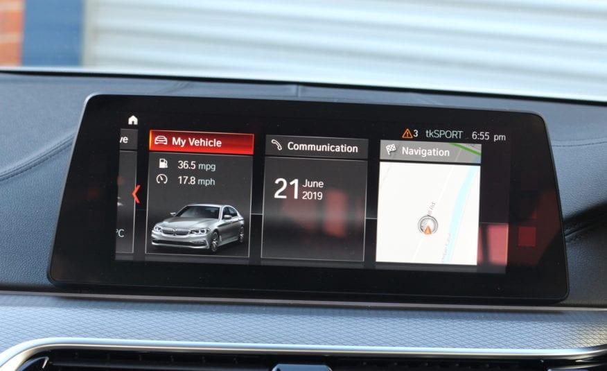 2018 (68) BMW 5 Series 2.0 520d M Sport Auto (s/s) 4dr,