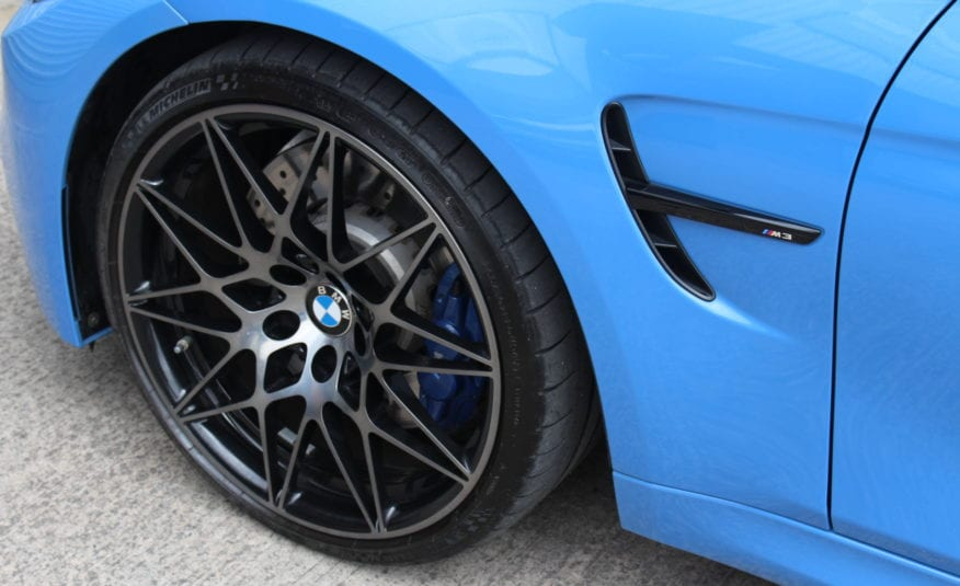 2017 (67) BMW M3 3.0 (Competition Pack) M DCT (s/s) 4dr