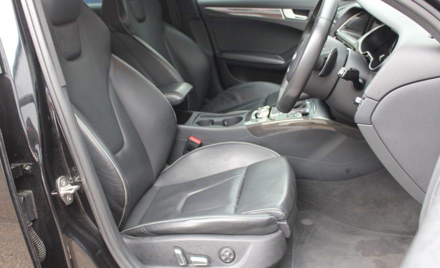 2013 (63) PHANTOM BLACK  AUDI RS4 AVANT 4.2 TFSI AVANT S TRONIC QUATTRO 5dr
