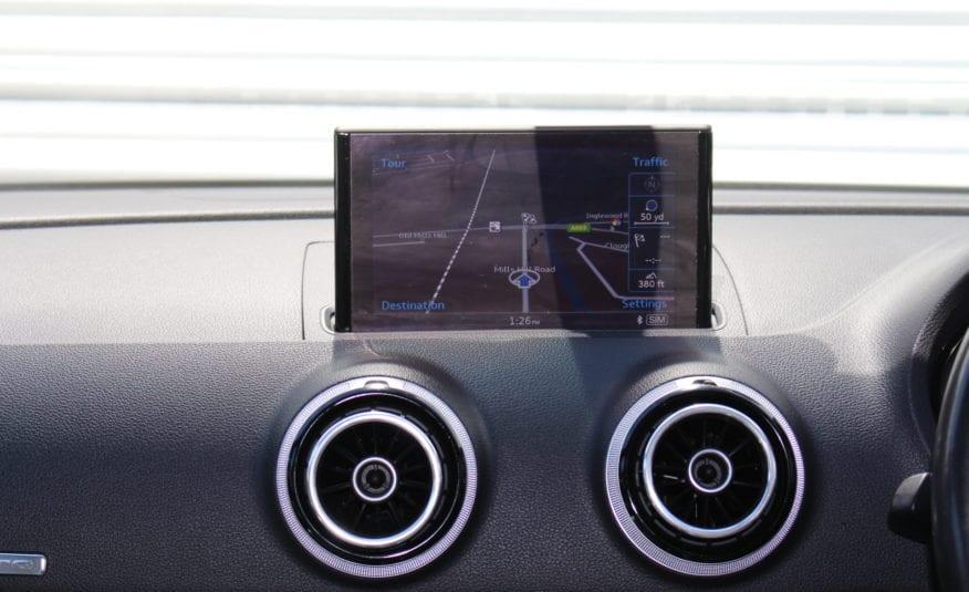 2014 (64) Audi S3 2.0 TFSI Sportback S Tronic quattro 5dr,
