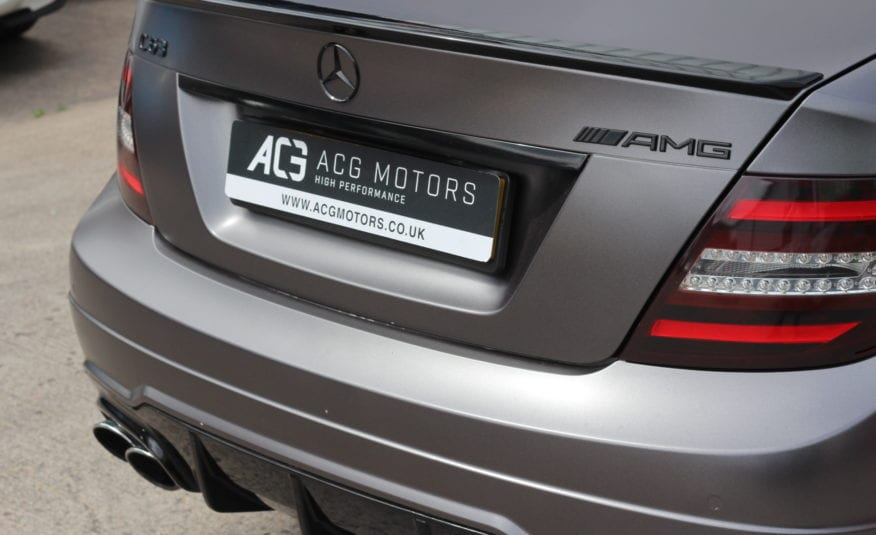 2013 Mercedes-Benz C Class 6.3 C63 AMG MCT 7S 4dr