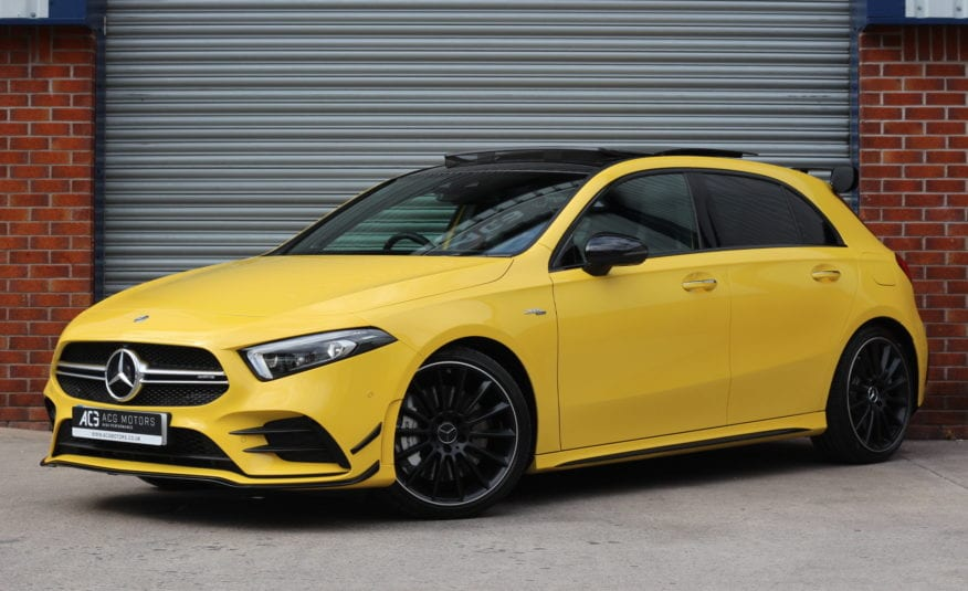 2019 (19) Mercedes-Benz A Class 2.0 A35 AMG (Premium Plus) AMG Speedshift DCT 4MATIC 5dr