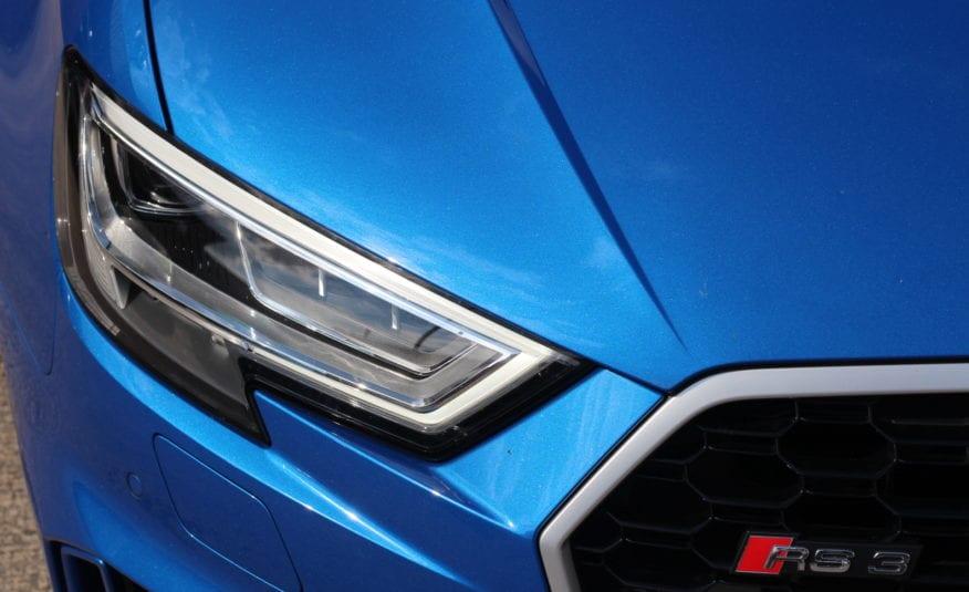 2018 (18) Audi RS3 2.5 TFSI Sportback S Tronic quattro (s/s) 5dr