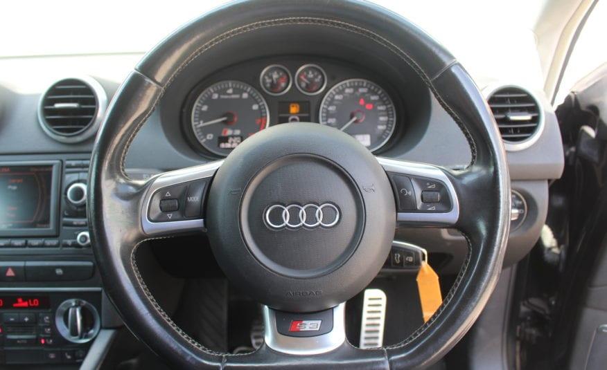 2009 (58) Audi S3 2.0 TFSI quattro 3dr