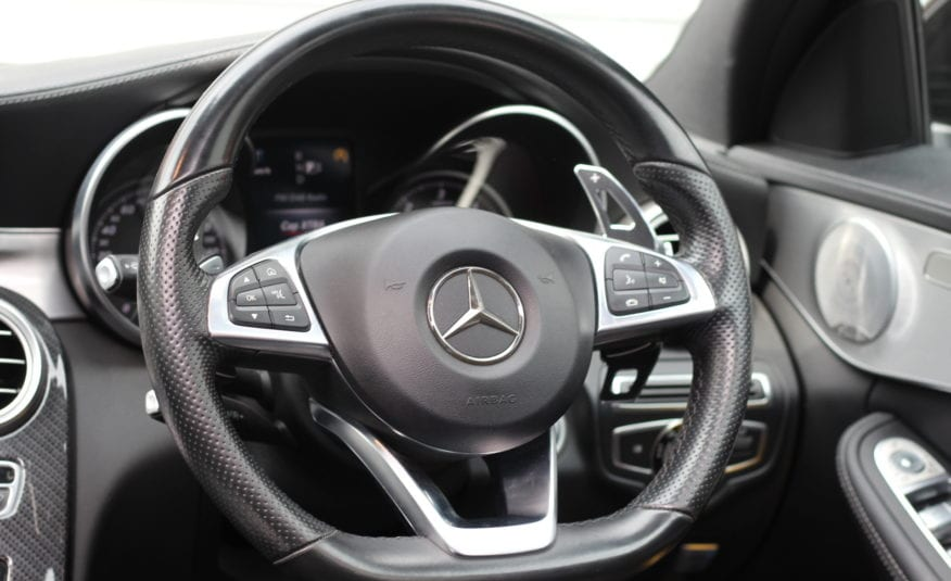 2015 (15) Mercedes-Benz C Class 2.1 C220d AMG Line (Premium Plus) G-Tronic+ (s/s) 4dr