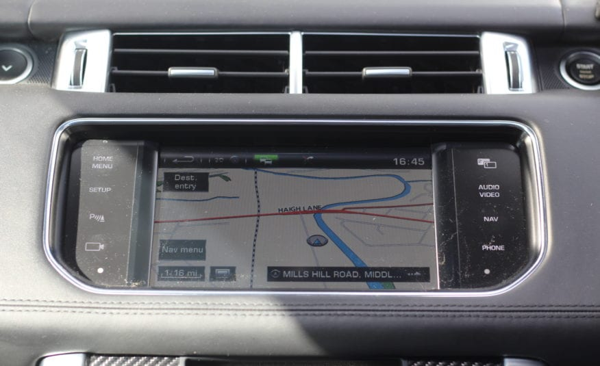 2015 (15) Land Rover Range Rover Sport 5.0 V8 SVR (s/s) 5d