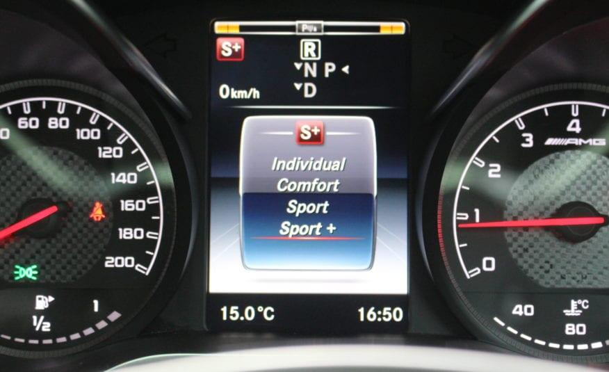 Mercedes-Benz C Class 4.0 C63 V8 BiTurbo AMG SpdS MCT (s/s) 4dr