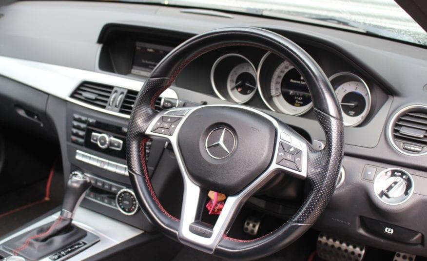 2013 (62) Mercedes-Benz C Class 2.1 C220 CDI BlueEFFICIENCY AMG Sport Plus 7G-Tronic Plus 2dr