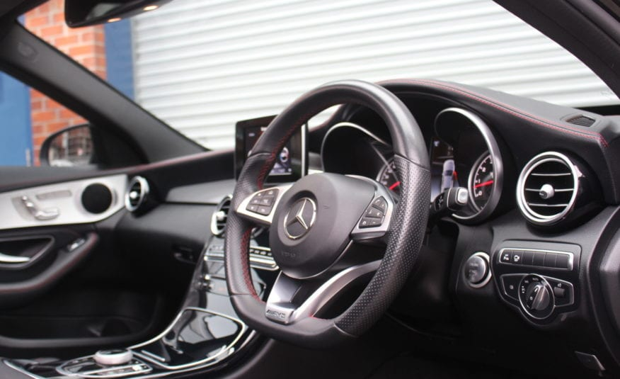 2017 (67) Mercedes-Benz C Class 3.0 C43 V6 AMG (Premium) G-Tronic+ 4MATIC (s/s) 4dr