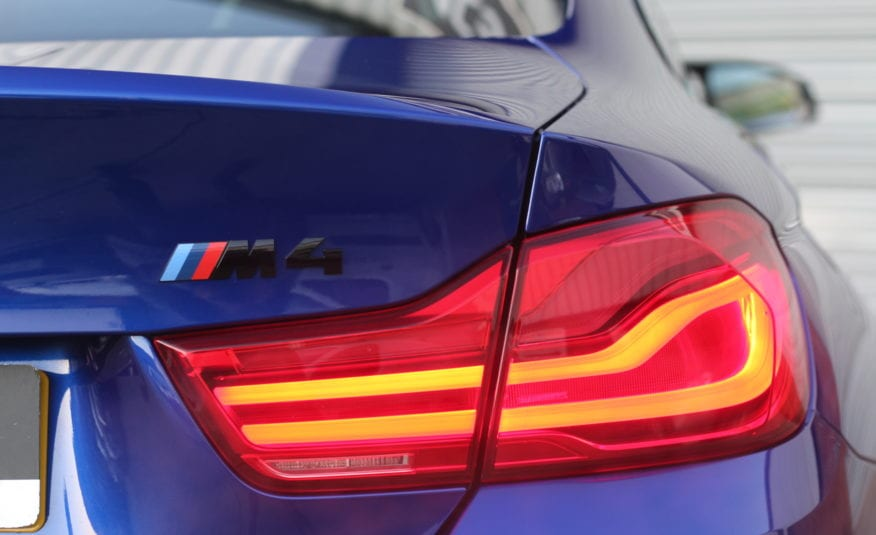 2018 (68) BMW M4 3.0 BiTurbo GPF Competition Pack DCT (s/s) 2dr