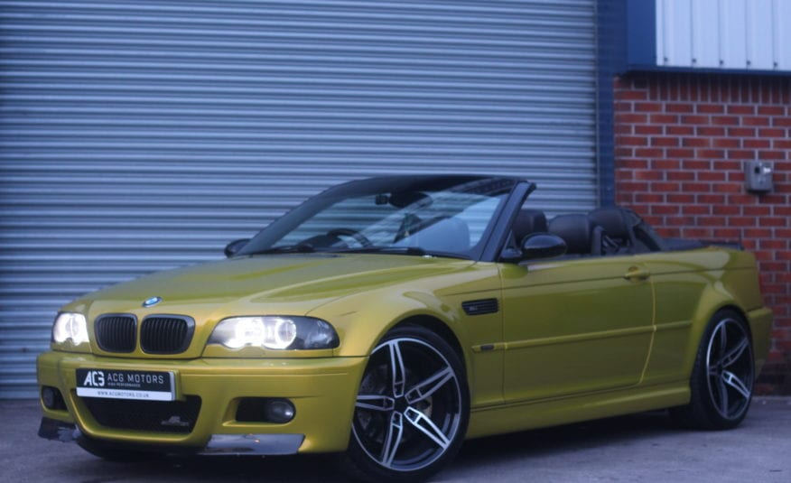 2005 (05) BMW M3 3.2 Sequential 2dr