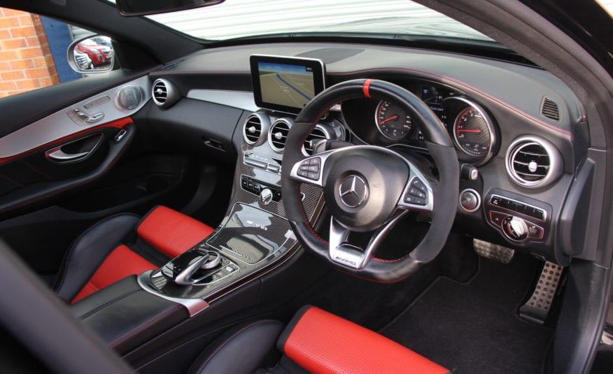 2016 (66) Mercedes-Benz C Class 4.0 C63 V8 BiTurbo AMG S (Premium) SpdS MCT (s/s) 4dr