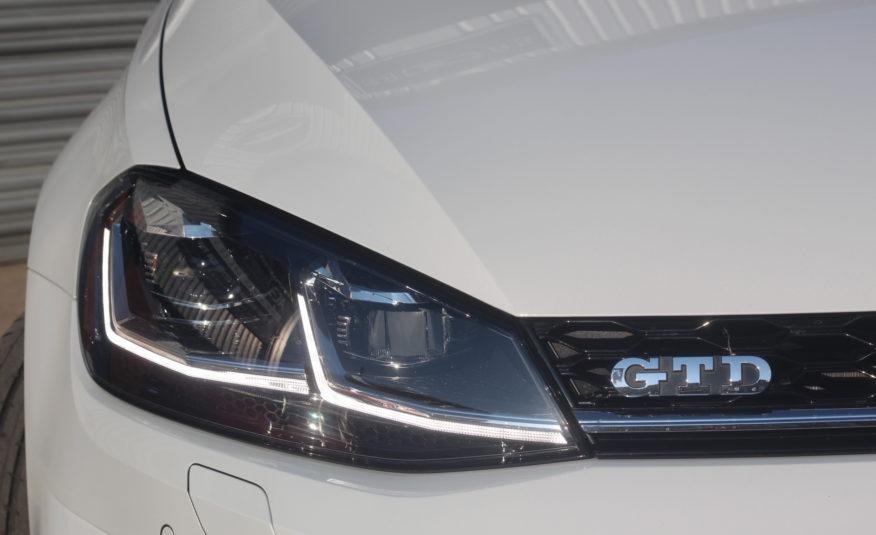 2018 (18) Volkswagen Golf 2.0 TDI GTD DSG (s/s) 5dr