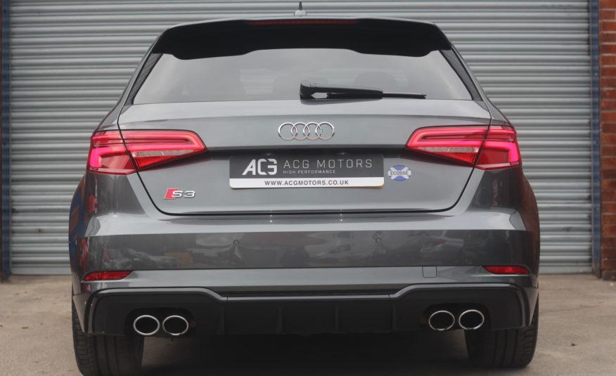 2017 (17) Audi S3 2.0 TFSI Black Edition Sportback S Tronic quattro (s/s) 5dr