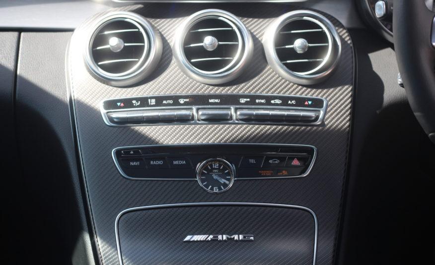 2016 (66) Mercedes C63 S V8 BiTurbo AMG S Edition 1 SpdS MCT (s/s) 2dr