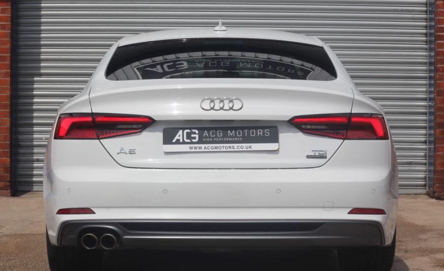 2017 (17) Audi A5 2.0 TDI S line Sportback S Tronic quattro (s/s) 5dr