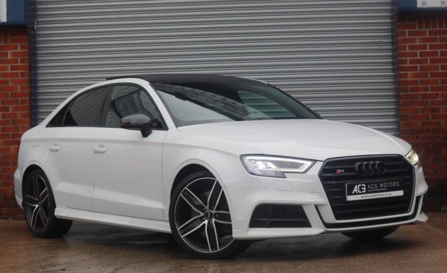 2018 (67) Audi S3 2.0 TFSI Black Edition S Tronic quattro (s/s) 4dr