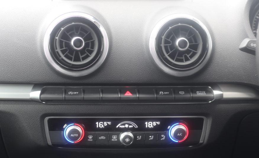 2019 (68) Audi A3 1.0 TFSI 30 S line Sportback S Tronic (s/s) 5dr