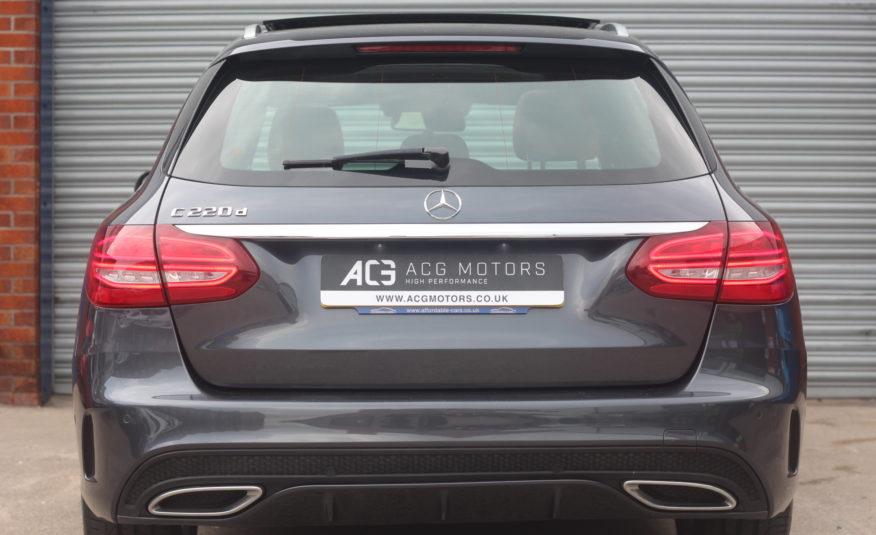 2015 (15) Mercedes-Benz C Class 2.1 C220d AMG Line (Premium Plus) 7G-Tronic+ (s/s) 5dr