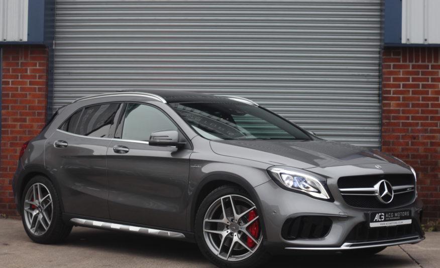 2017 (17) Mercedes-Benz GLA Class 2.0 GLA45 AMG (Premium) SpdS DCT 4MATIC (s/s) 5dr