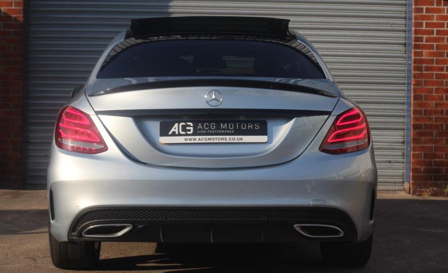 2017 (17) Mercedes-Benz C Class 2.1 C250d AMG Line (Premium Plus) G-Tronic+ (s/s) 4dr