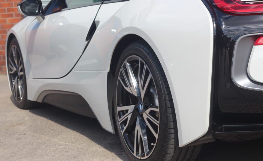 2017 (67) BMW i8 1.5 7.1kWh Auto 4WD (s/s) 2dr