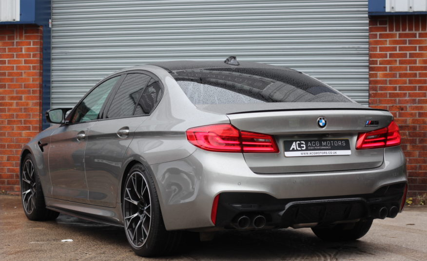 2019 (69) BMW M5 4.4i V8 Competition Steptronic xDrive (s/s) 4dr