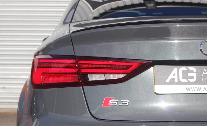 2017 (67) Audi S3 2.0 TFSI Black Edition S Tronic quattro (s/s) 4dr