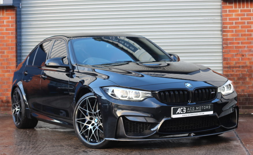 2018 (18) BMW M3 3.0 BiTurbo Competition DCT (s/s) 4dr