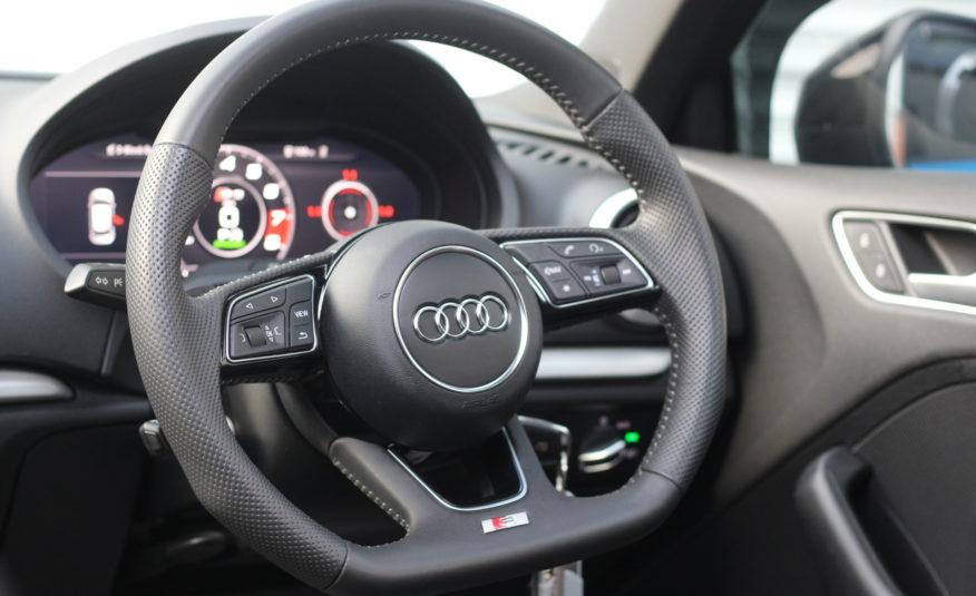 2017 (17) Audi S3 2.0 TFSI Sportback S Tronic quattro (s/s) 5dr