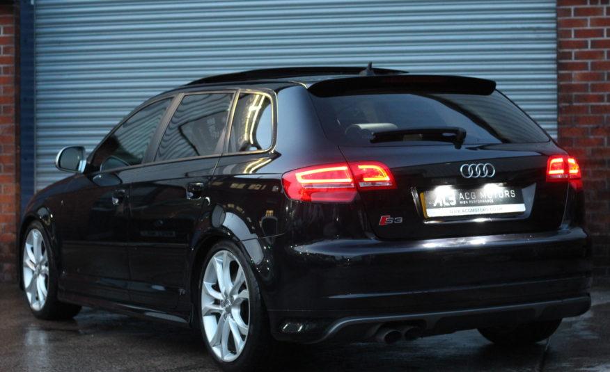 2010 (10) Audi S3 2.0 TFSI Black Edition Sportback S Tronic quattro 5dr