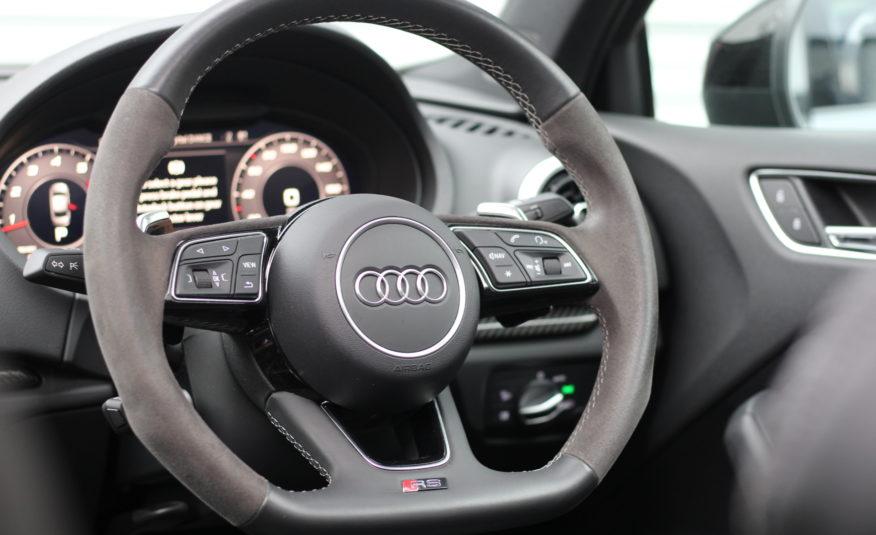 2020 (69) Audi RS3 2.5 TFSI Audi Sport Edition S Tronic quattro (s/s) 4dr