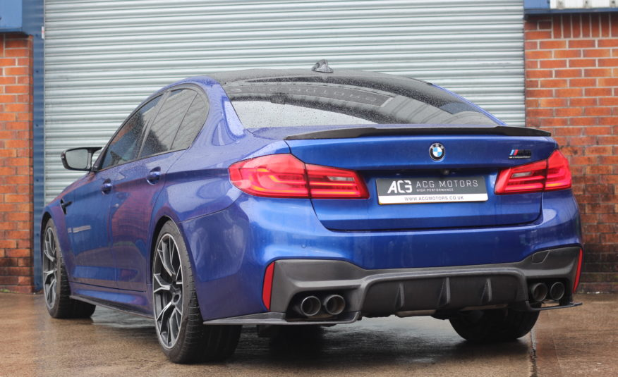 2019 (68) BMW M5 4.4i V8 Competition Steptronic xDrive (s/s) 4dr